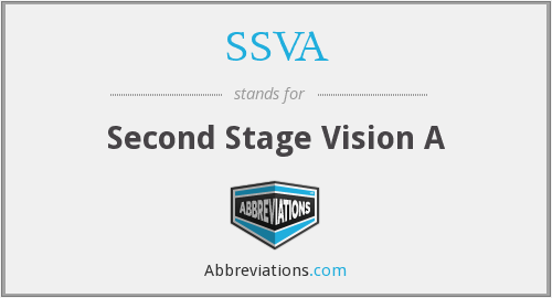 What does SSVA stand for?