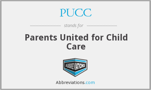 PUCC - Parents United for Child Care