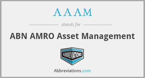 AAAM - ABN AMRO Asset Management