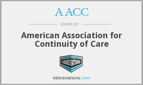 AACC - American Association For Continuity Of Care