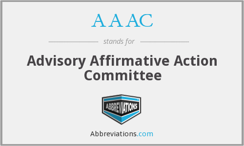 AAAC - Advisory Affirmative Action Committee
