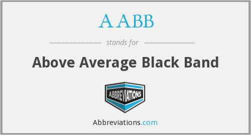 AABB - Above Average Black Band