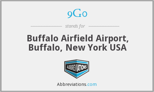 9G0 - Buffalo Airfield Airport, Buffalo, New York USA
