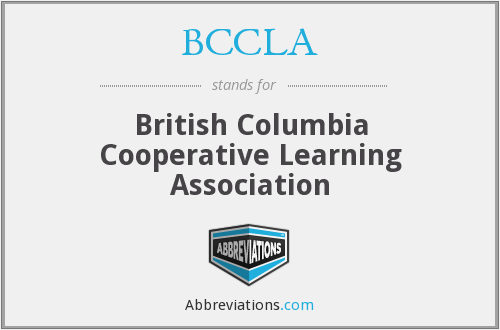 BCCLA - British Columbia Cooperative Learning Association