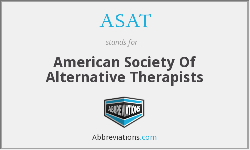 ASAT - American Society Of Alternative Therapists