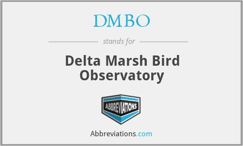 DMBO - Delta Marsh Bird Observatory