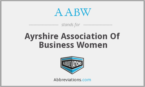 AABW - Ayrshire Association Of Business Women