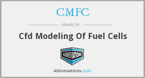 CMFC - Cfd Modeling Of Fuel Cells