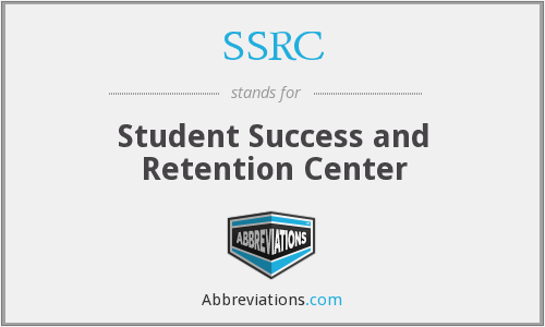 SSRC - Student Success and Retention Center