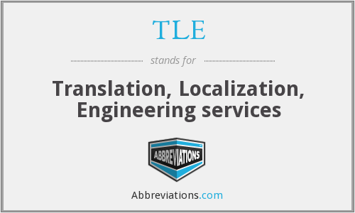 TLE - Translation, Localization, Engineering services