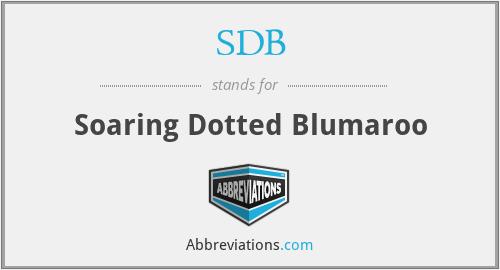 SDB - Soaring Dotted Blumaroo