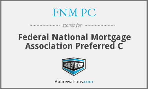 FNM PC - Federal National Mortgage Association Preferred C