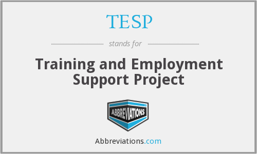 What does TESP stand for?