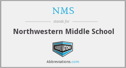 NMS - Northwestern Middle School
