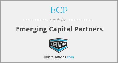 ECP - Emerging Capital Partners