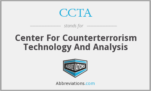 CCTA - Center For Counterterrorism Technology And Analysis