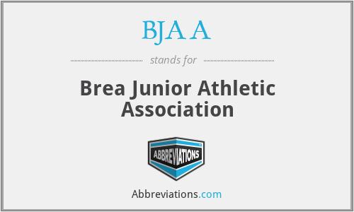 BJAA - Brea Junior Athletic Association