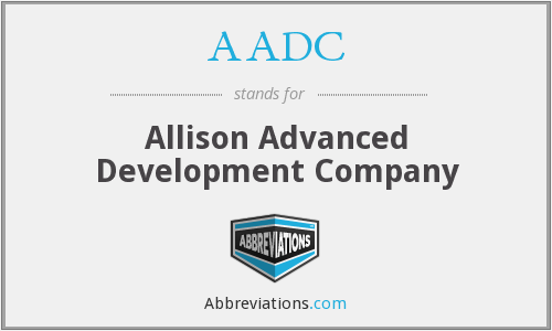 AADC - Allison Advanced Development Company