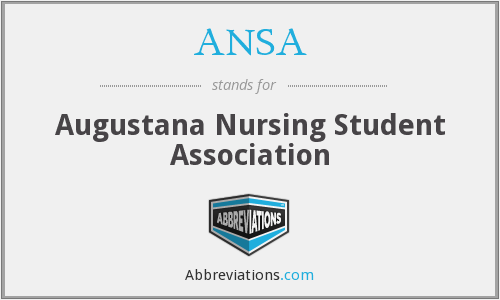 ANSA - Augustana Nursing Student Association