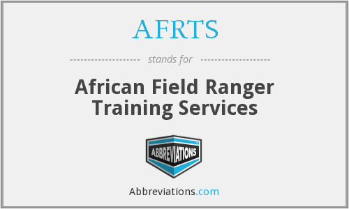 AFRTS - African Field Ranger Training Services
