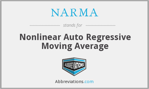 NARMA - Nonlinear Auto Regressive Moving Average
