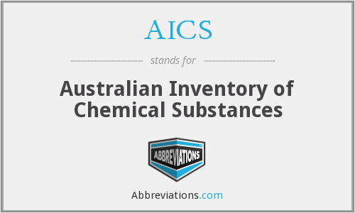 AICS - Australian Inventory of Chemical Substances