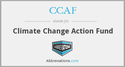 CCAF - Climate Change Action Fund