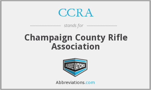 CCRA - Champaign County Rifle Association