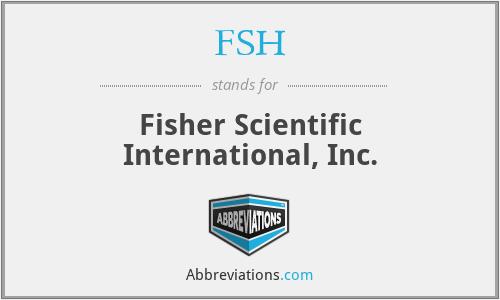 FSH - Fisher Scientific International, Inc.