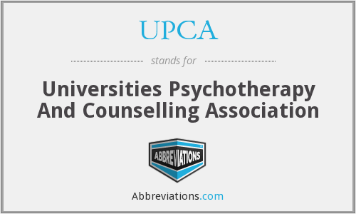 UPCA - Universities Psychotherapy And Counselling Association