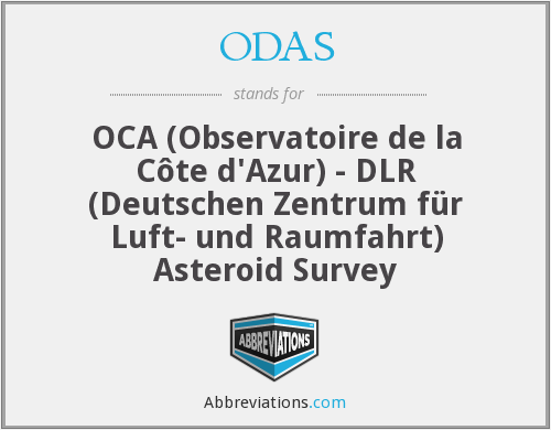 What does ODAS stand for?