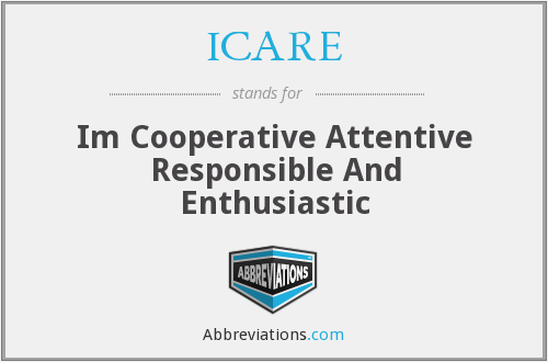 ICARE - Im Cooperative Attentive Responsible And Enthusiastic
