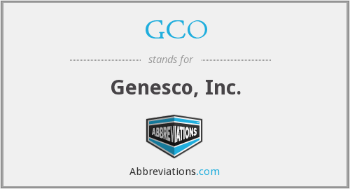 What does GCO stand for?