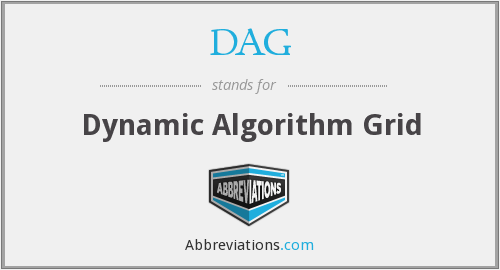 DAG - Dynamic Algorithm Grid