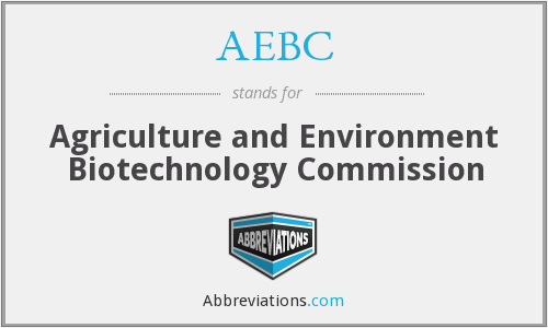AEBC - Agriculture and Environment Biotechnology Commission