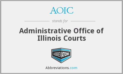 AOIC - Administrative Office of Illinois Courts