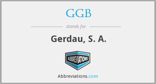 What does GGB stand for?