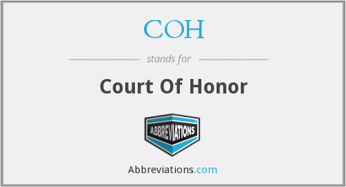 COH - Court Of Honor