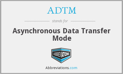 ADTM - Asynchronous Data Transfer Mode