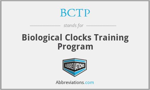 BCTP - Biological Clocks Training Program