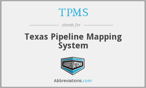 TPMS - Texas Pipeline Mapping System