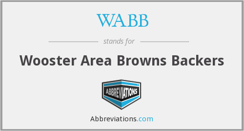 WABB - Wooster Area Browns Backers