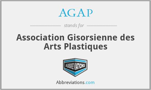 AGAP - Association Gisorsienne des Arts Plastiques