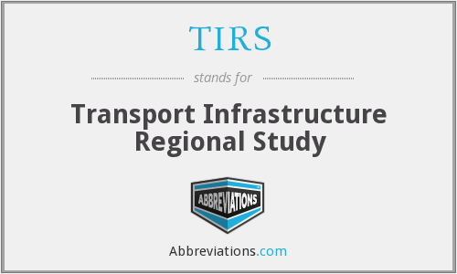 TIRS - Transport Infrastructure Regional Study