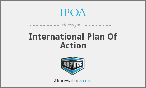 IPOA - International Plan Of Action