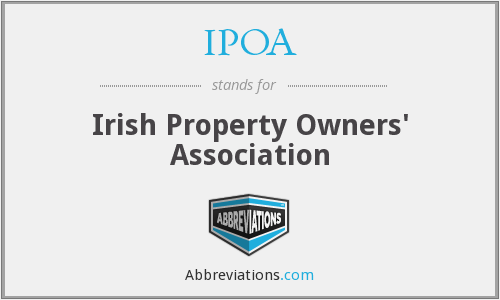 IPOA - Irish Property Owners' Association