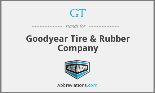 GT - Goodyear Tire & Rubber Company