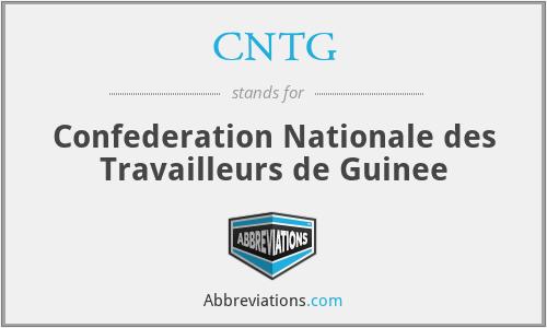 CNTG - Confederation Nationale des Travailleurs de Guinee