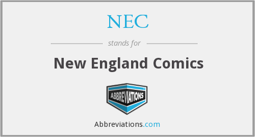 NEC - New England Comics