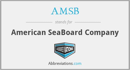 AMSB - American SeaBoard Company